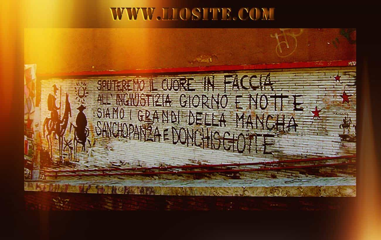 Graffiti su don Chiscotte