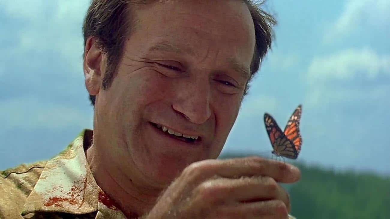 Robin-Williams e la farfalla