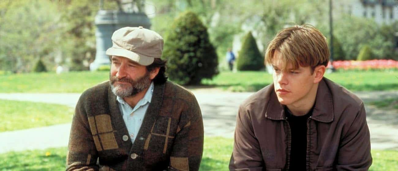 Robin Williams e Marc Demon nel film