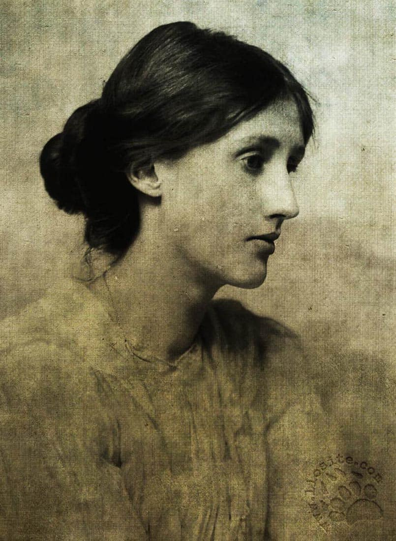Foto elaborata di Virginia Woolf