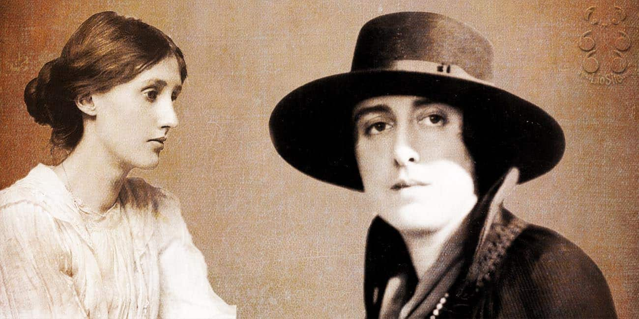 Vita-Sackville-West e Virginia Woolf