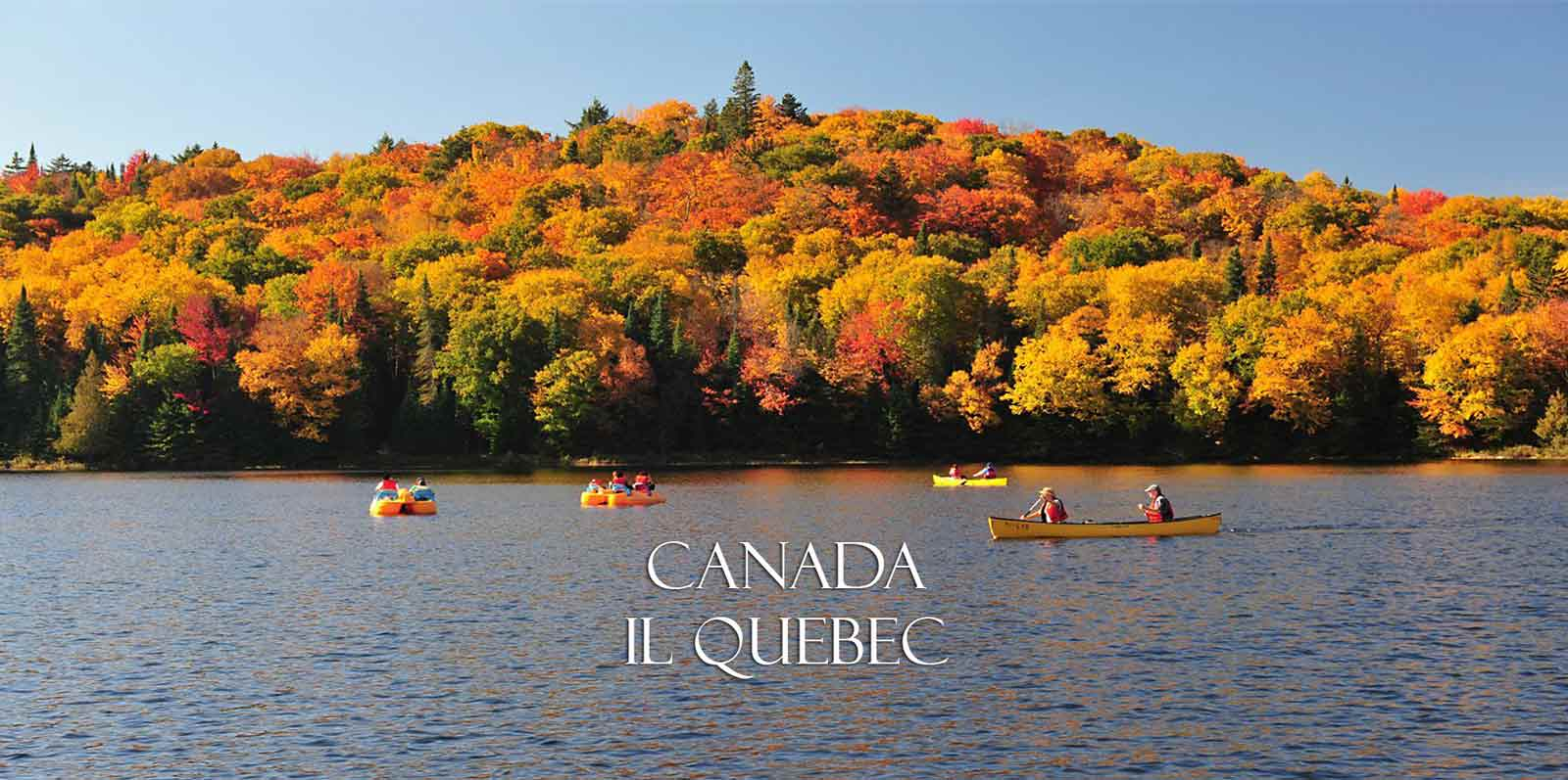 Mont Tremblant Quebec in autunno