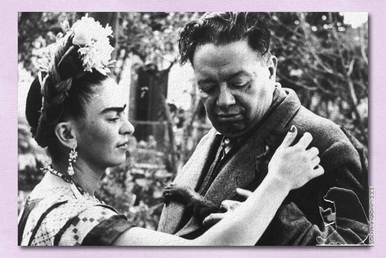 Frida-Kahlo-and-Diego-Rivera-by-Wallace-Marly